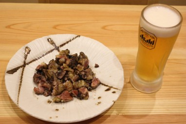 地鶏&生ビール